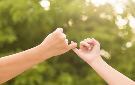 Fetele glittr – Promisiunea ei