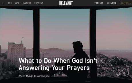 CE FACI ATUNCI CÂND DUMNEZEU NU ÎȚI RĂSPUNDE LA ÎNTREBĂRI